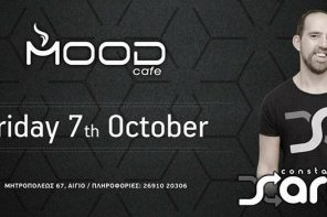 Dj Set : Constantinos Saradis @ Mood cafe-bar (Αίγιο) | 07.10