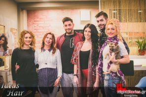 "To κομμωτήριο Ideas Hair της Κωνσταντίνας Κεφαλά φιλοξένησε την Μαρίτα Αγγελοπούλου & όλη η ομάδα από το νυχτερινό κέντρο ""Αστέρια Live Πάτρας"" την Παρασκευή που μας πέρασε!(Πάτρα)| 10.2"