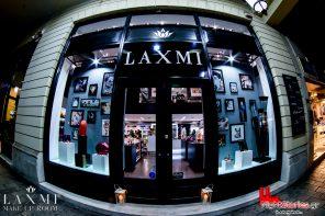 Η πιο φανταχτερή βιτρίνα της Κορίνθου (Πάτρα), ανήκει στο κατάστημα Laxmi Μake Up Room!